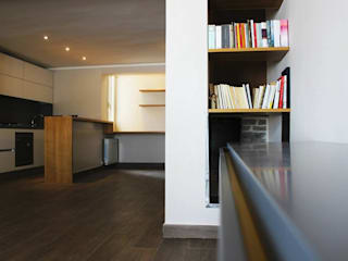 Living room by deltastudio, Minimalist