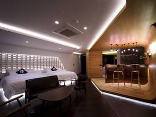 Salas de estar modernas por Seungmo Lim Moderno