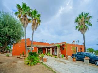 Dolores Boix Casas de estilo colonial Piedra Rosa
