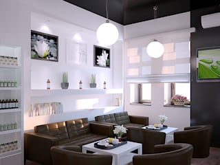 Organic Shop - concept store od Shtantke Interior Design Nowoczesny