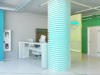 Sportiv GYM od Shtantke Interior Design Nowoczesny