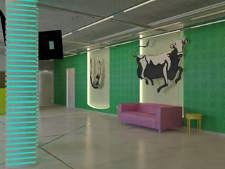 Modern bars & clubs by Shtantke Interior Design Modern