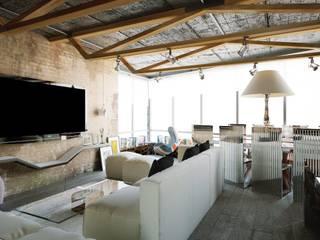 Industrial style living room by Shtantke Interior Design Industrial