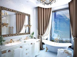 Villa Nicolina Klasyczna łazienka od Shtantke Interior Design Klasyczny