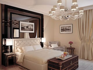Klassieke slaapkamers van Shtantke Interior Design Klassiek