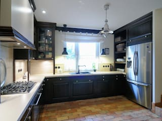 ARTEMA PRACOWANIA ARCHITEKTURY WNĘTRZ ห้องครัว ไม้