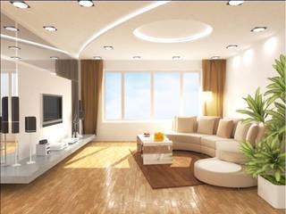 Wohnzimmer:  Wohnzimmer von Sealdex Spanndecken
