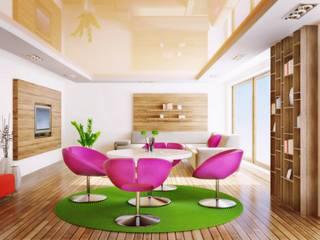 Wohnzimmer: moderne Wohnzimmer von Sealdex Spanndecken