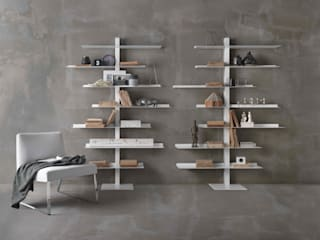 Siderio Living roomShelves