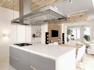 Cocinas de estilo minimalista de homify Minimalista Madera Acabado en madera