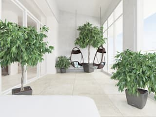 Minimalist conservatory by homify Minimalist