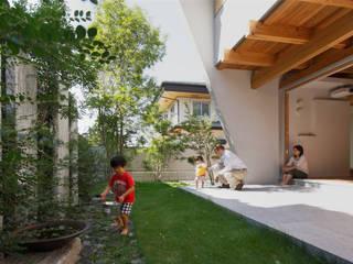 巣づくりの家 : 道家秀男建築設計事務所が手掛けた庭です。