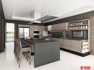 Cocina Cocinas modernas de Estudio Meraki Moderno