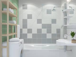 Baños de estilo mediterraneo por Design Rules