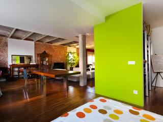 Desde el dormitorio:  de estilo  de Pablo Echávarri Arquitectura