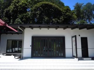 恵璃殿(妙楽寺客殿)TERA-Cafe: 青戸信雄建築研究所が手掛けた会議・展示施設です。,