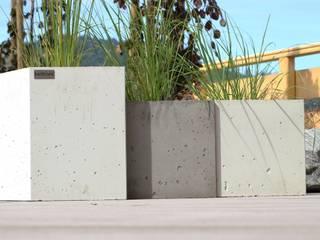 Donice betonowe Nowoczesny ogród od Bettoni Nowoczesny
