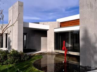 CASA PM: Jardines de estilo  por Vito Ascencio y Arquitectos