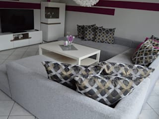 Home Staging einer Mietwohnung: modern  von Ambientia,Modern