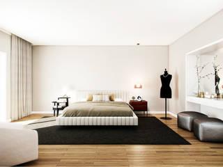 Moderne slaapkamers van Vilaça Interiores Modern
