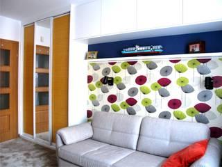 Mieszkanie | Gdynia Fikakowo: styl , w kategorii Sypialnia zaprojektowany przez Pracownia ARD