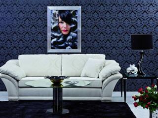 Living room by Finkeldei Polstermöbel GmbH