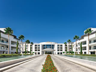 Conrad, by Hilton - Algarve, Portugal Rethink Interiors Ltd Mediterranean style houses