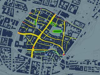 LED Masterplan Freiburg (D) von Generation Licht Klassisch