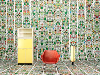 ARCHIVES WALLPAPER L'AFRIQUE ROOMSERVICE DESIGN GALLERY Paredes y pisosPapeles pintados