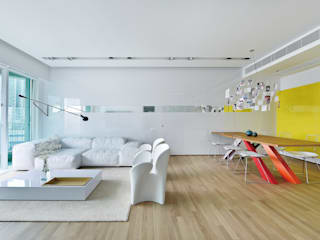 거실 by Millimeter Interior Design Limited
