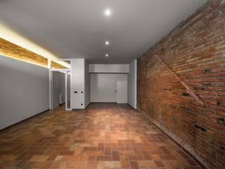 Reforma Integral de una vivienda en Terrassa: Casas de estilo  de MU Estudio Arquitectura