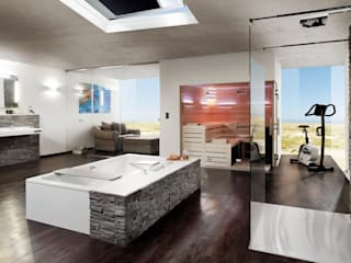 Badspiegel Ambiente: modern  von Schreiber Licht-Design-GmbH,Modern