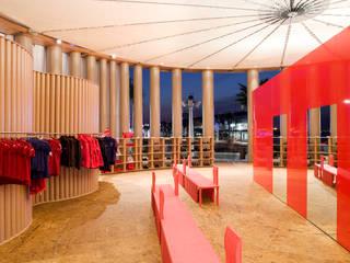 カンペール 巡回パビリオン の 坂茂建築設計 (Shigeru Ban Architects)