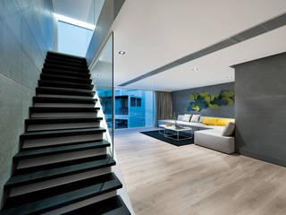 Projekty,  Salon zaprojektowane przez Millimeter Interior Design Limited