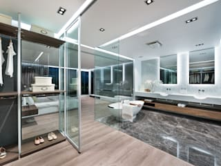 모던스타일 욕실 by Millimeter Interior Design Limited 모던