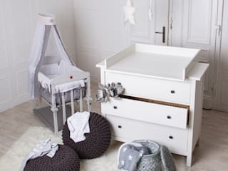 PuckDaddy Nursery/kid's roomWardrobes & closets MDF White