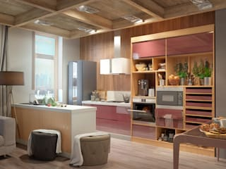Cocinas de estilo moderno de Дмитрий Каючкин Moderno