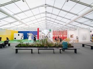 Frieze, London:  Exhibition centres by Universal Design Studio