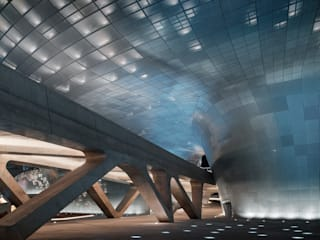 Dongdaemun Design Plaza Zaha Hadid Architects Conference Centres