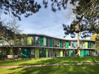 OBS Basisschool Apollo 11 te De meern, Utrecht:  Scholen door Rinus Roovers Architectuur, Modern