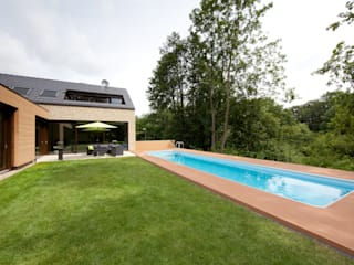Wohnen an der Berkel Hermann Josef Steverding Architekt Moderner Garten