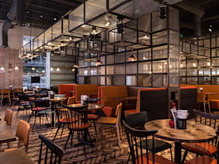 GBK Glasgow Gastronomía de estilo industrial de Moreno Masey Industrial