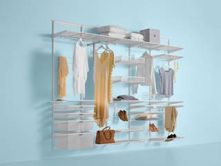Walk in closets de estilo minimalista de Elfa Deutschland GmbH Minimalista