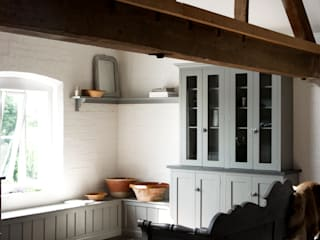 The Loft Shaker Kitchen by deVOL Cuisine rustique par deVOL Kitchens Rustique