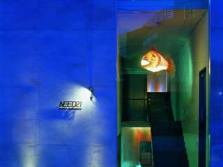 Office buildings by NEED21 ASSOCIATES, Modern