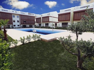 Piscine méditerranéenne par asis mimarlık peyzaj inşaat a.ş. Méditerranéen