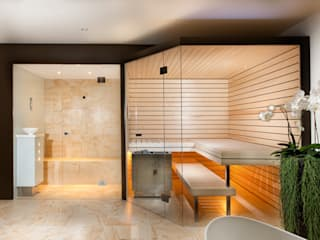 Sauna nach Mass:  Spa von Küng Sauna& Spa AG