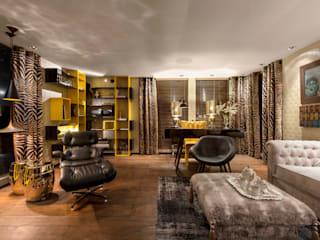 Johnny Thomsen Arquitetura e Design Eclectic style living room