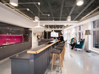 ThoughtWorks - Creating a collaborative workplace Modern offices & stores by Morgan Lovell Modern