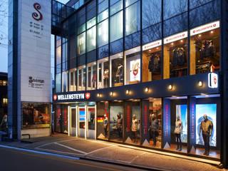 Balcones y terrazas de estilo moderno de Design m4 Moderno